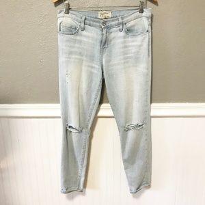 CURRENT ELLIOTT The Stiletto Destroy Jeans 29 EUC